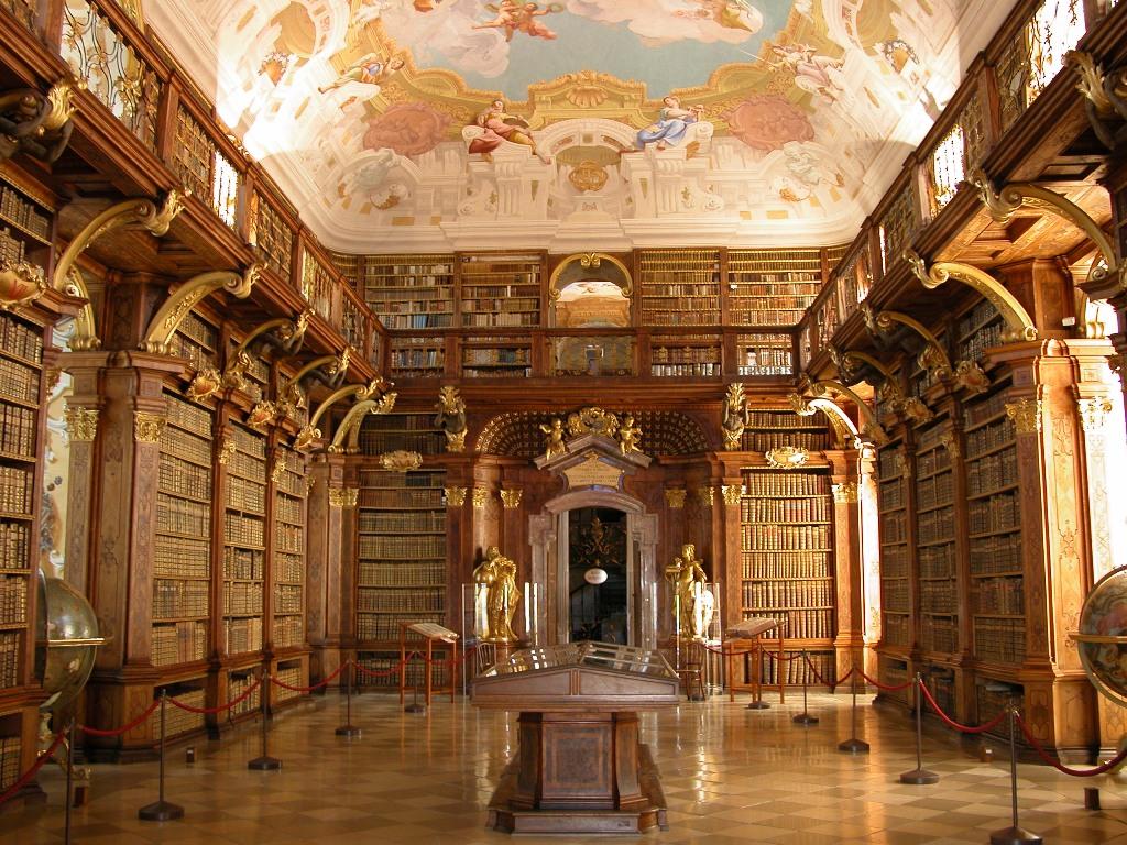 Bibliotheque abbaye de melk